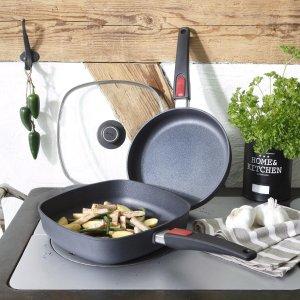 《12道锋味》谢霆锋同款德国国宝厨具 Woll 炒锅3件套€84.99收 德国制造 一体成型