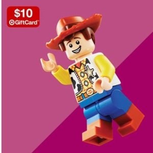 Up to 30% Off + Spend $50 Get $10 GCTarget LEGO Sale