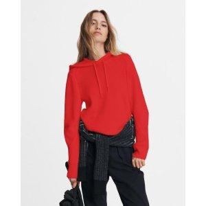 Rag & BonePierce cashmere hoodie