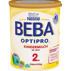 现价€11.83(原价€12.95)Nestle BEBA OPTIPRO儿童奶粉特价 适合2岁以上