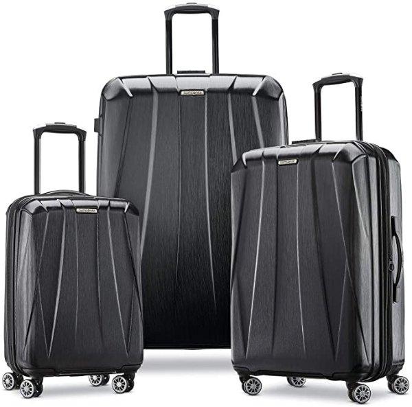 Centric 2 新款可扩展硬壳行李箱3件套