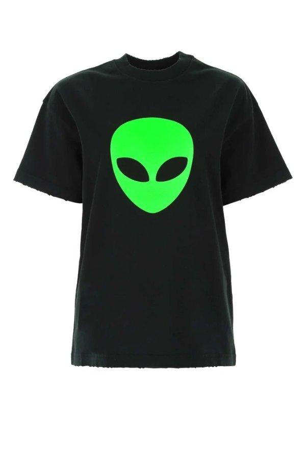 Alien Print T恤