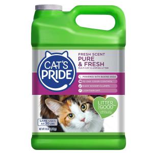 $7.42 买3送1Cat's Pride Lightweight系列 猫砂10磅