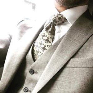 41折 英式幽默小领带VIVIENNE WESTWOOD 领带热卖  面试必备+男友礼物首选