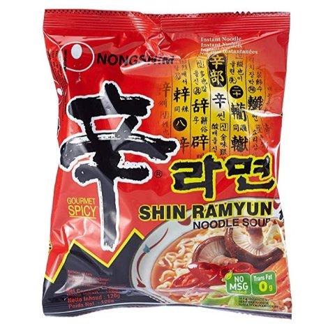 热卖中 小幅降价 售价€18.66 免去超市搬Nong Shim 农心 辛拉面20包 爽辣停不下 一包又一包 还有6包版本可选