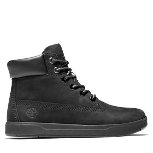 Timberland大童款 黑色靴