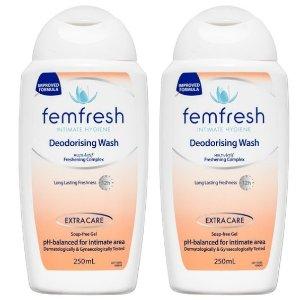 仅$11.98 日用必备囤货2 x Femfresh女生私处护理洗液