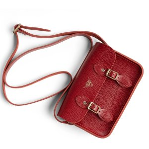 The Cambridge Satchel CompanyYear of the Ox Exclusive: The Little One in Leather - Pillar Box Celtic Grain