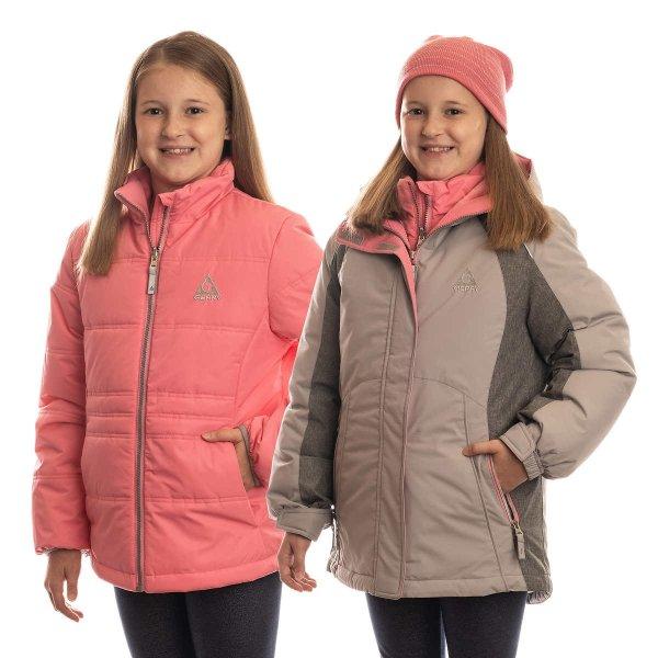 儿童户外保暖外套