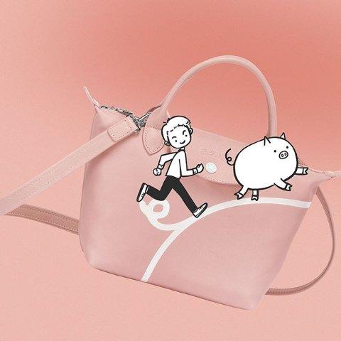 断货超快 €77收经典饺子包Longchamp 春夏新款上线 百欧之内即可收入囊中
