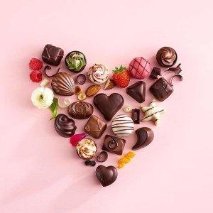 白菜价! $4起瑞士莲 Godiva 情人节精选巧克力礼盒促销