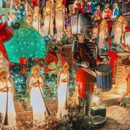 纽约Bryant Park 圣诞灯展