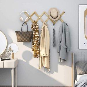 Amada 可扩展风琴式壁挂衣架