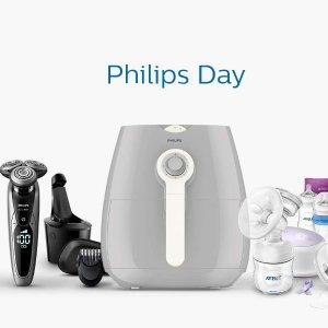 低至半价 £39起收干湿两用剃须刀限今天:Philips家族集体大促!个人护理、空气炸锅一个都不能少