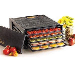 $109.99(原价$200)Excalibur 5层蔬果干制作机 蔬果干烘干神器