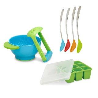 $15.99NUK 辅食碾压碗、存储盒和喂养勺套装