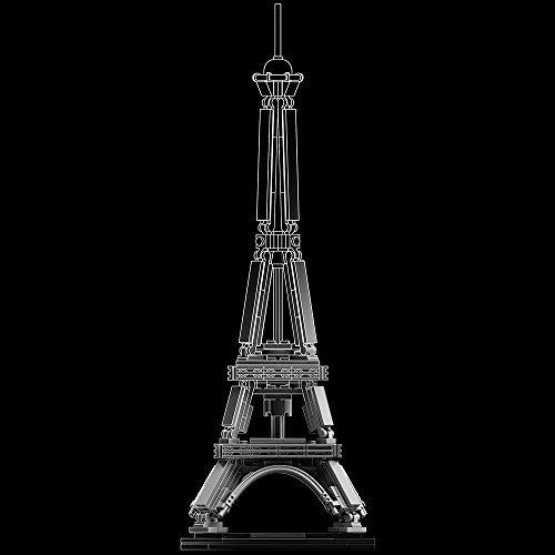 Architecture 建筑系列埃菲尔铁塔 21019