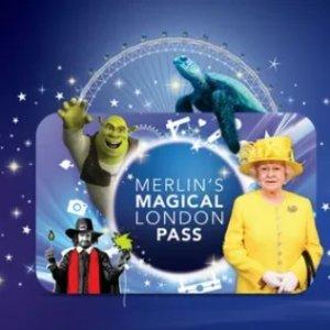低至37折 杜莎夫人蜡像馆、伦敦眼都有默林的魔幻伦敦景点通行卡 5组当红景点超低价热卖