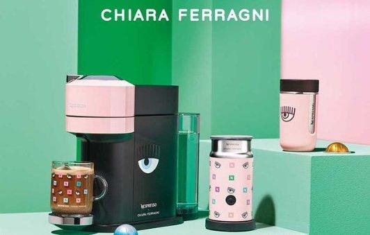 Nespresso & Chiara 联名咖啡机Nespresso & Chiara 联名咖啡机