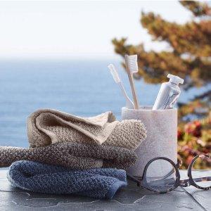 精选套装低至8.5折Parachute Home 洗浴用品热卖 品质上乘 亲肤舒适