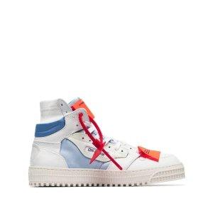 Off-White高帮板鞋