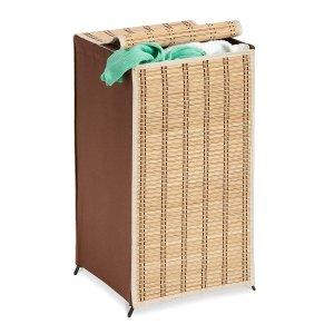 $6.93Honey-Can-Do HMP-01619 Tall Wicker Weave Hamper, Bamboo Laundry Organizer