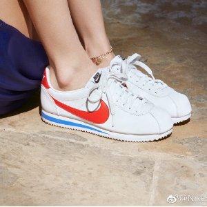 NikeClassic Cortez Lthr 阿甘鞋