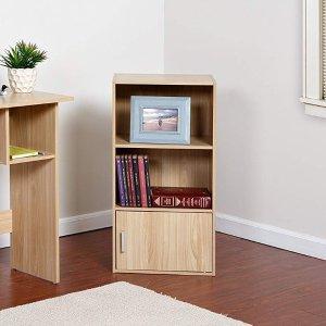 $19.81 (原价$28.99)OneSpace 3层带柜门书架