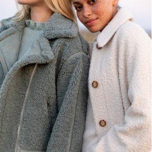 无门槛4折macys.com 女士外套专场,温暖一整个冬天