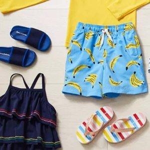 折扣升级:Hanna Andersson 儿童泳装促销