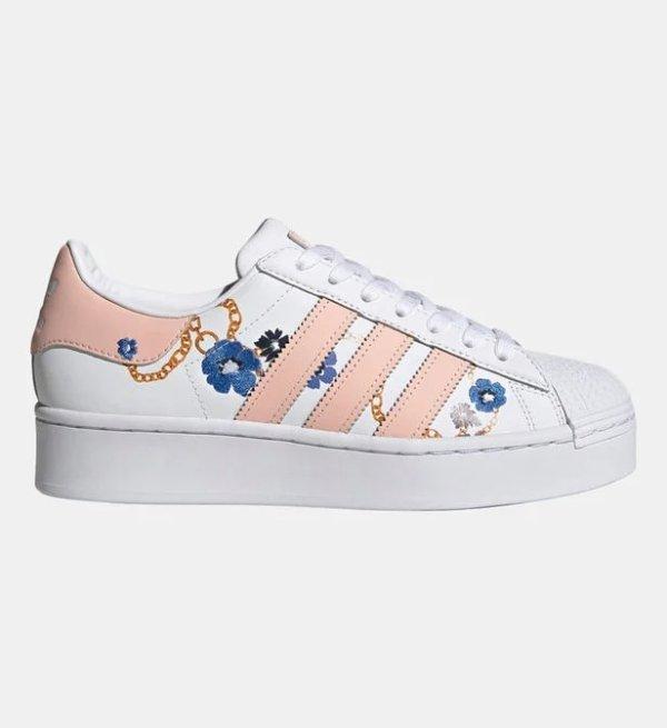 花卉Superstar 小白鞋