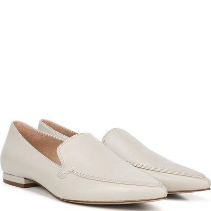 27 Edit Hannah 白色小皮鞋