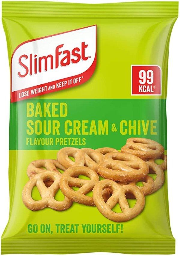 酸奶油椒盐脆饼零食袋 12包