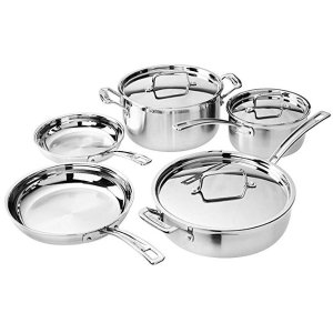 Today Only:Cuisinart Multiclad Pro Cookware Set (8-Piece) @ Amazon.com