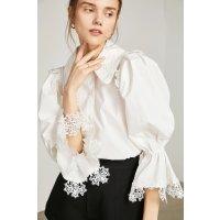 J.ING Renaissance White 蕾丝衬衣