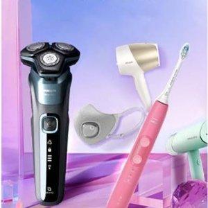 低至3折 电动牙刷$69起Philips 个护小家电全线再降价 水牙线装水器仅$29