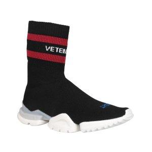 $718.46VETEMENTS Reebok Sock Stretch-knit Sneakers