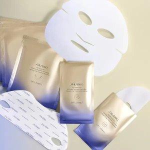 Shiseido悦薇提拉焕采面膜 6片装