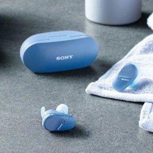 新品首降 $248(原价$279.99)Sony WF-SP800N 无线运动降噪耳机 有好看的橙色