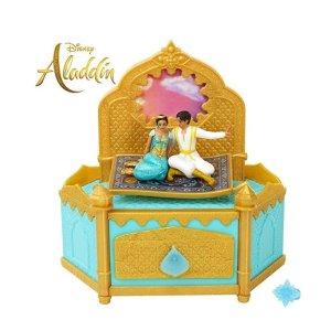 Aladdin Disney Musical Jewelry Box with Ring to Wear