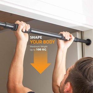 仅售€19.48 冬天在家也能健身Ultrasport 引体向上杆 用于62-103 cm的门 可承重100kg