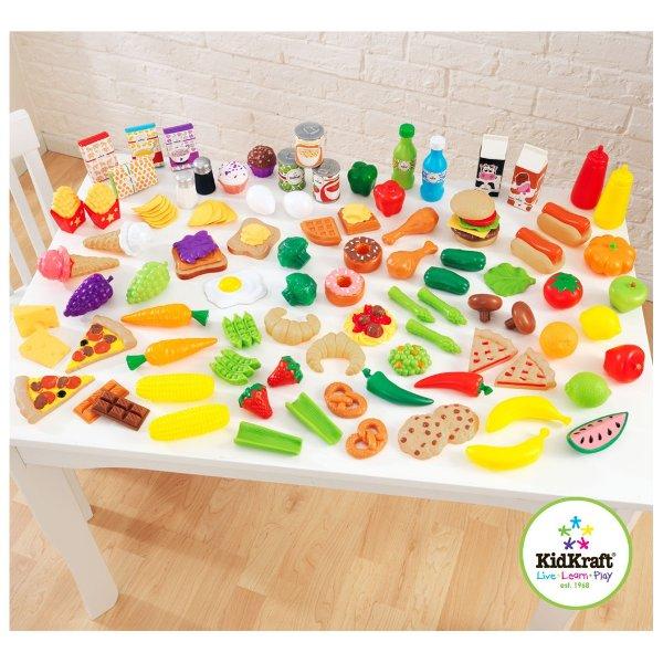 105件套 食物仿真玩具
