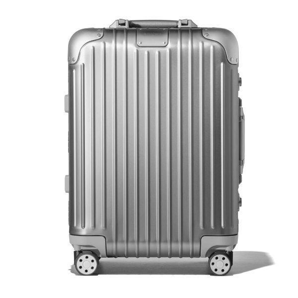 Original Cabin Carry-On Aluminum Suitcase | Silver | RIMOWA