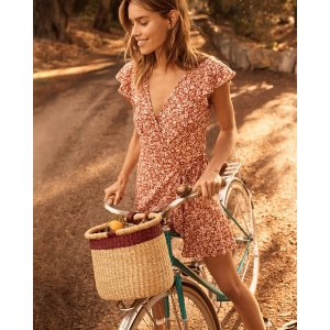 Abercrombie & FitchWomen's Wrap-Front Dress | Women's | Abercrombie.com