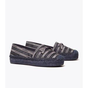 Tory Burch渔夫鞋