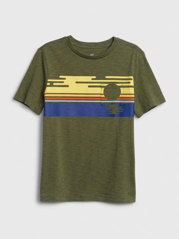 儿童、大童T恤