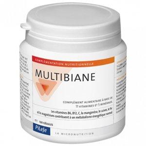 富含11种维生素+5种矿物质,提高免疫力PILEJE 复合维生素胶囊 120粒