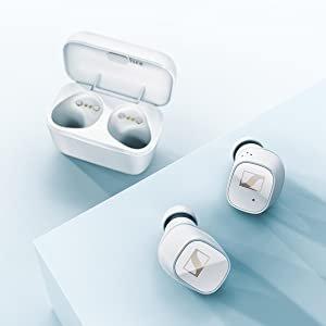 5折仅€99 黑白2色可选史低价:Sennheiser CX 400BT 真无线蓝牙耳机 可连原厂APP调节参数