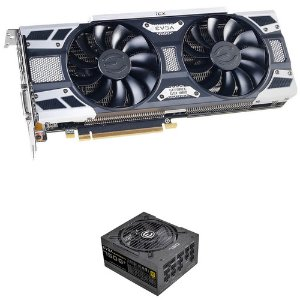 $469.98 w/ Free 750 G1+ PSUEVGA GeForce GTX 1080 SC2 Graphics Card