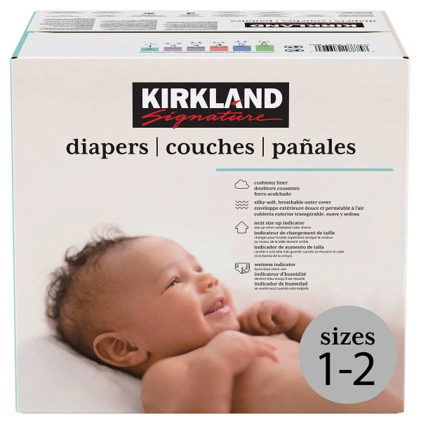 婴儿纸尿裤1-2号